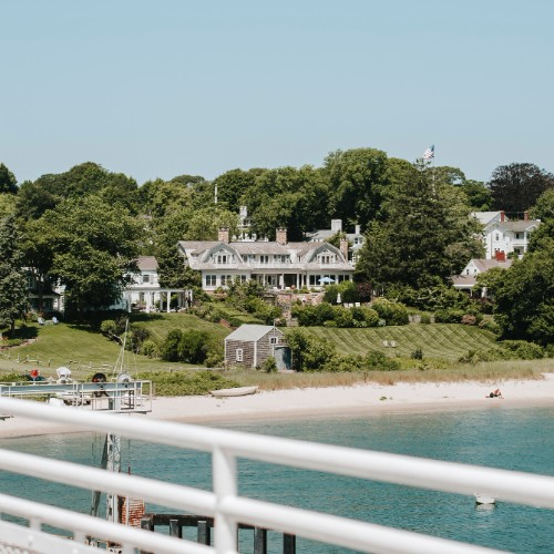 luxury yacht destinations in New England