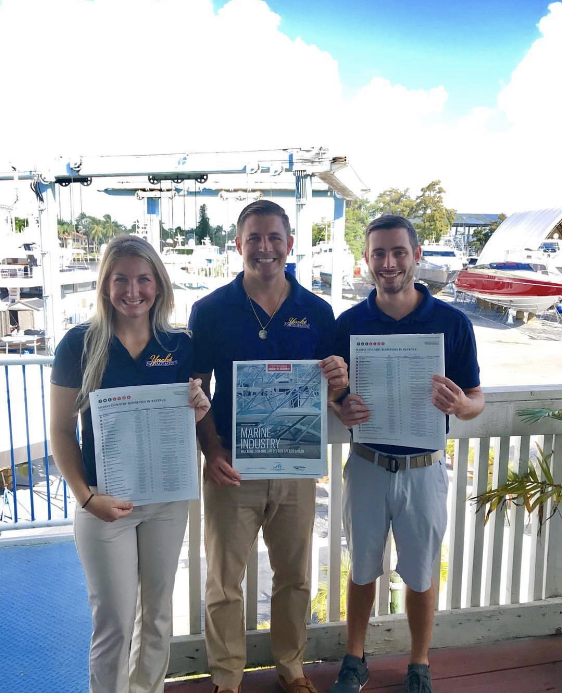 "Image 0461: ""Yacht Management South Florida Business Journal List"""